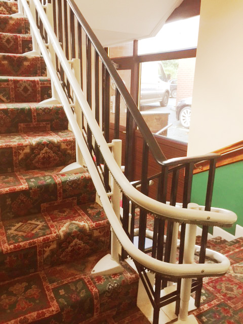 Curved Stairlift Dundrum