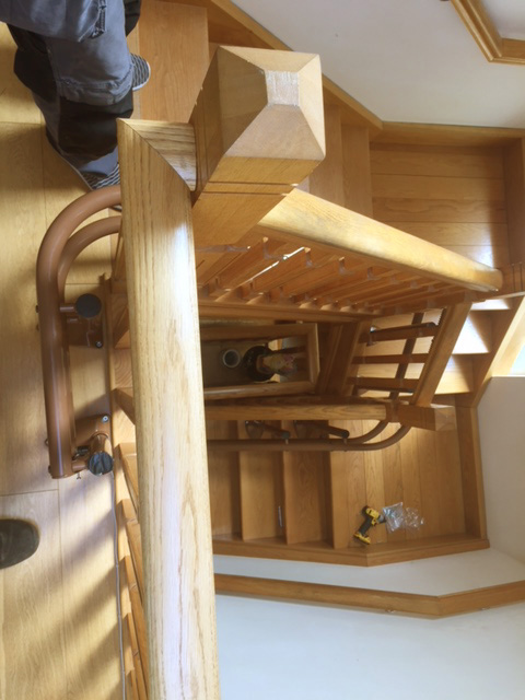 Curved Stairlift Installation Dublin