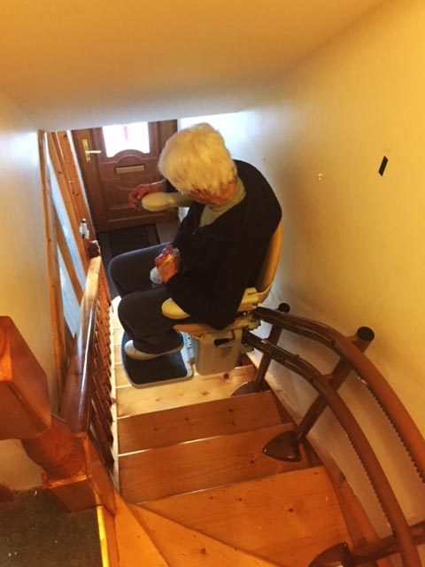 Curved Stairlift Mayo