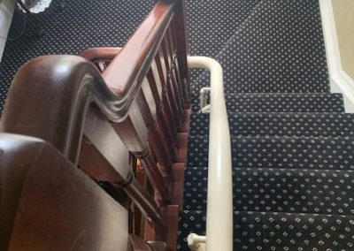 Curved Stairlift in Dundalk
