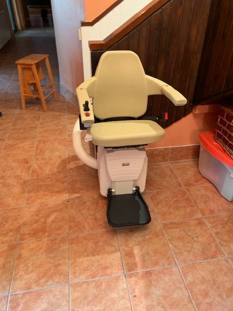 Two New Stairlifts in Dundalk Home