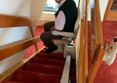 Stairlift fitted in Stepaside