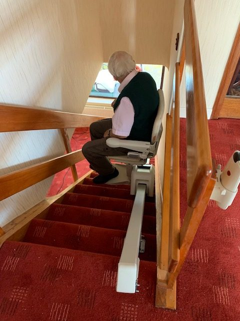 Slim Stairlift in Stepaside, South Dublin