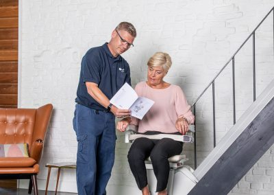 Handicare 1100 Stairlift Advice