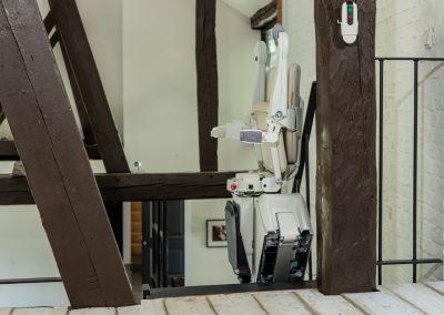 Handicare 1100 Stairlift Folded