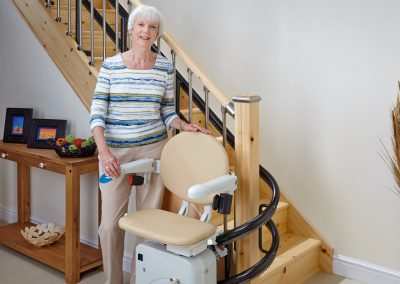 Handicare 2000 Simplicity Curved Stair Lift