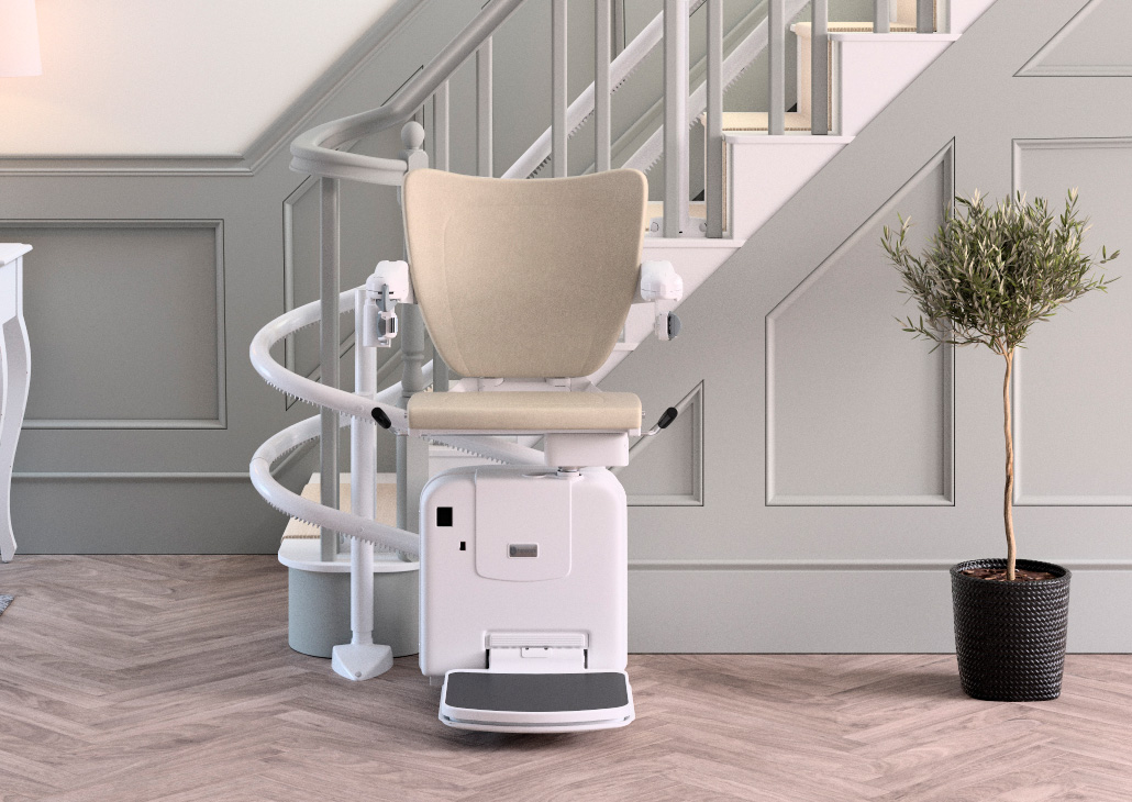Handicare 2000 Style Curved Stair Lift