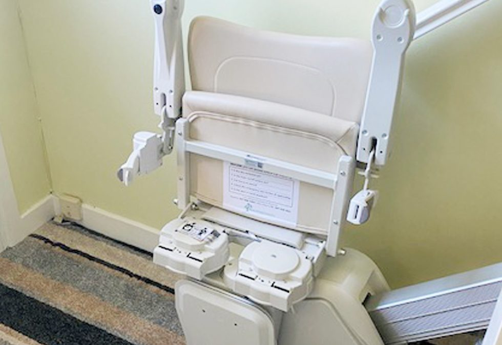 Straight Stairlift in Wilton, Cork